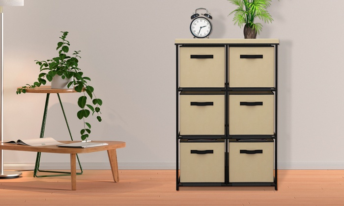 Modular Shelving with Three or Six Drawers from £29.98