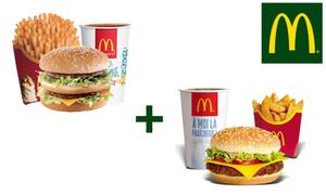 2 Maxi Best Of™ au choix chez McDonald's™