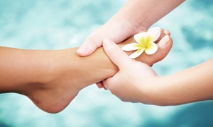 KC Foot & Nail Spa: Foot Massage or Gel Color Mani-Pedi at KC Foot & Nail Spa (Up to 50% Off)