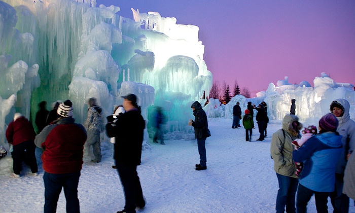 Ice Castles - Lincoln: Visit for Two or Four to the Ice Castle  (42% Off)