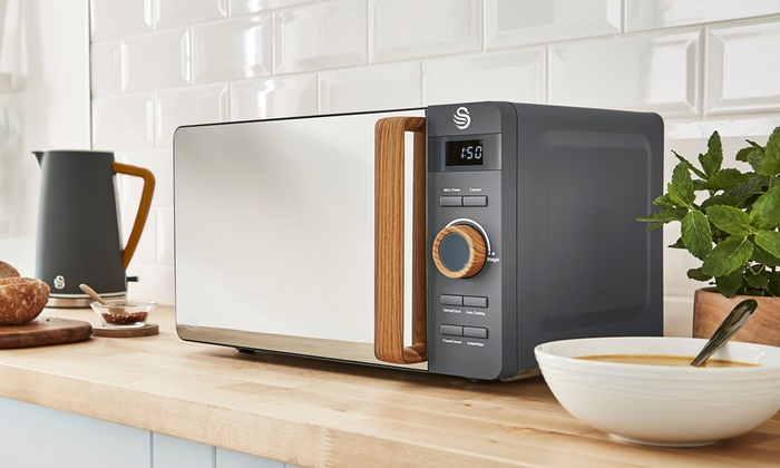 Swan Nordic 800W 20L Digital Microwave in Choice of Colour