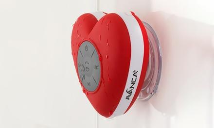 1 of 2 waterdichte hartvormige speaker voor in de badkamer vanaf € 19,99 tot korting