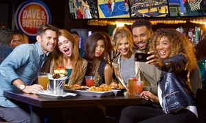 Up to 76% Off Gaming Package at Dave & Buster's Cary at Dave & Buster's - Cary, plus 6.0% Cash Back from Ebates.