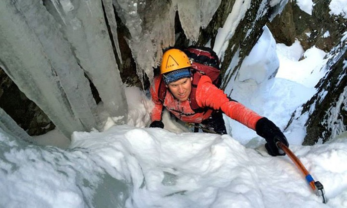 Northeast Mountaineering - The Bunkhouse at Northeast Mountaineering : Intro to Ice Climbing with Gear for One or Two from Northeast Mountaineering (Up to 56% Off)
