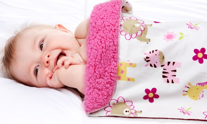 first step soft baby blankets groupon goods. Black Bedroom Furniture Sets. Home Design Ideas
