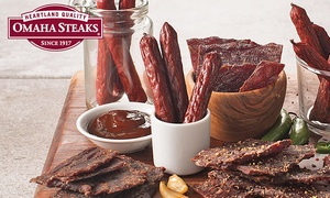 Omaha Steaks: Sausage and Jerky Sampler Packs from Omaha Steaks (Up to 68% Off). Four Options Available.