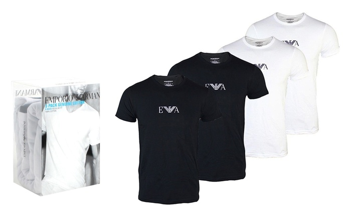 new product new collection running shoes Men's Emporio Armani T-Shirts | Groupon Goods