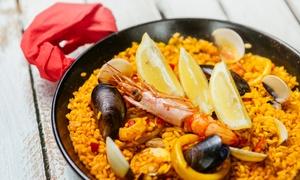 Mojo Picón: Hiszpańska uczta: wybrana paella dla 2 osób z napojem za 69,99 zł i więcej opcji w Mojo Picón (do -31%)
