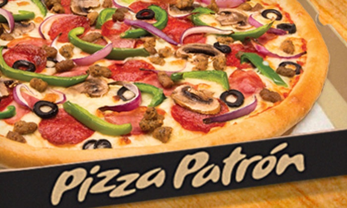 Pizza Patron - Doraville: One or Two Large Pizzas with Unlimited Toppings at Pizza Patron (Half Off)