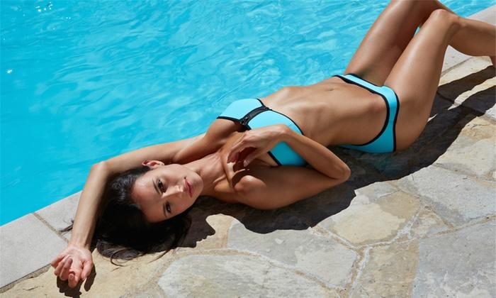 Women's Neoprene Bandeau Bikini