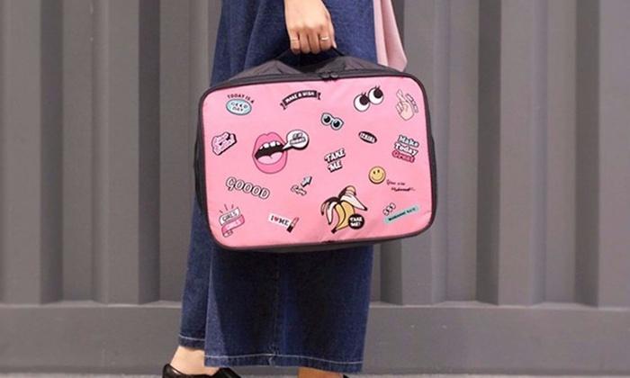 Sac de voyage adaptable sur valise   Groupon Shopping