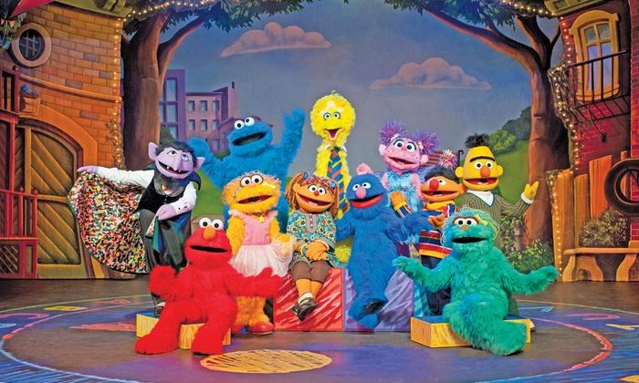 Sesame Street Live Sesame Street Live Make A New Friend Groupon