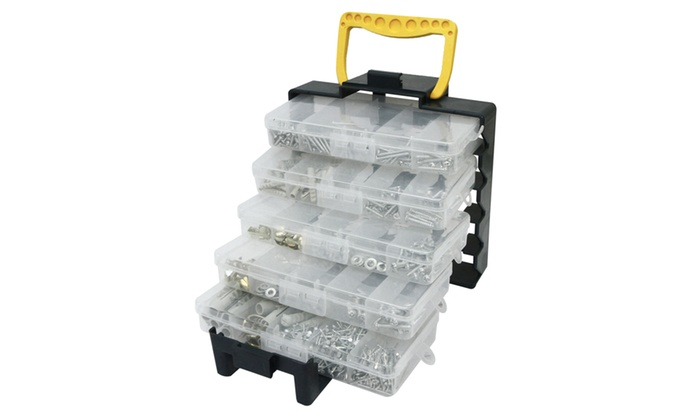 One or Two Rolson 1000-Piece Organiser Tote with Assortments From £12.98
