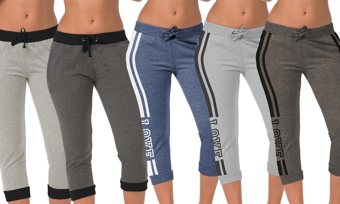 Coco Limon Women's Assorted Joggers (5-Pack)