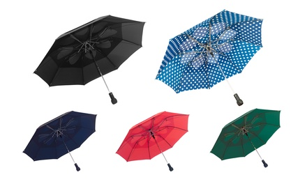 Double-Vented Umbrella