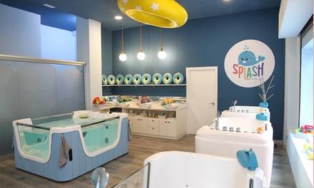 Spa para bebés con sesión de hidroterapia y masaje en Splash Baby Spa Tarragona (con 32% de descuento)