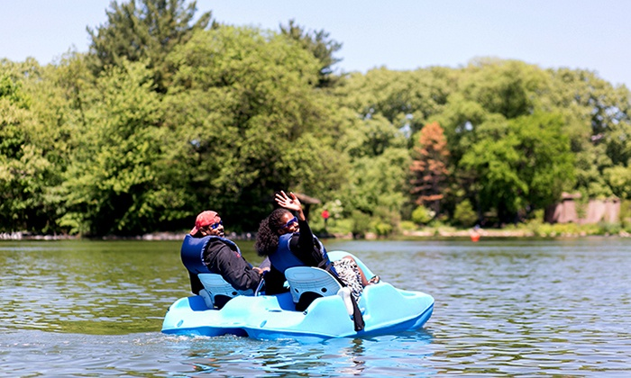 Lakeside Prospect Park - LeFrak Center Lakeside at Prospect Park: Boat and Kayak Rentals at Lakeside Prospect Park (Up to 50% Off). Two Options Available.