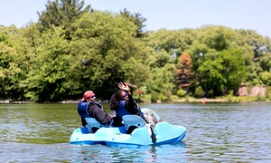 Lakeside Prospect Park: Boat and Kayak Rentals at Lakeside Prospect Park (Up to 57% Off). Two Options Available.