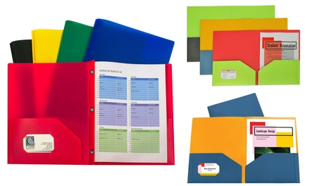 C-Line Assorted Folders (12- or 20-Pack)