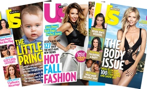 "$34 For A One-year, 52-issue Subscription To ""us Weekly"" ($69.95 Value)"