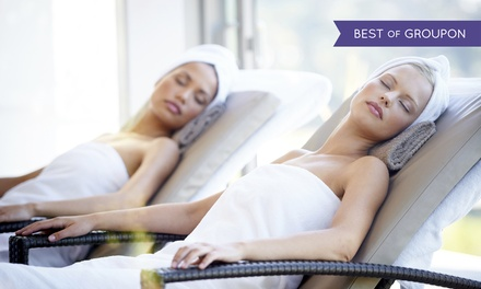 Spa Day with Two Treatments and Refreshments for One or Two at 4* Belton Woods
