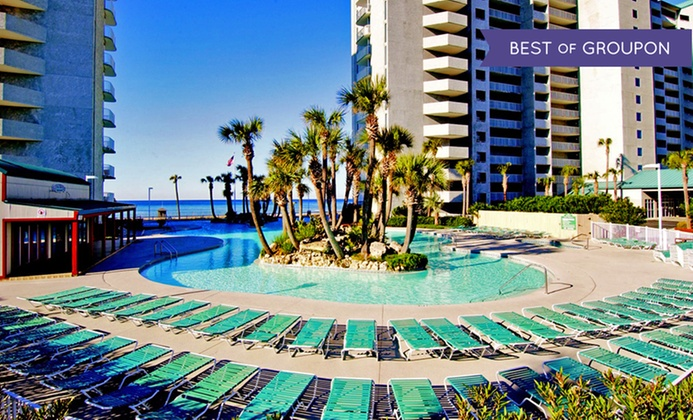 4-Star Beachside Condos Next to Gulf of Mexico