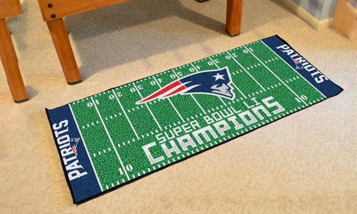 New England Patriots NFL Super Bowl XLIX Champions Field Runner Mat