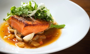 HEXX Kitchen + Bar: Gourmet American Food and Drinks at HEXX Kitchen + Bar (Up to 40% Off). Two Options Available.