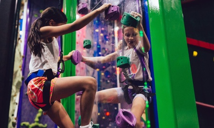 Indoor Rock Climbing Session for 1 ($10.50), 2 ($21) or 4 People ($42) at Clip 'N Climb Central Coast (Up to $72 Value)