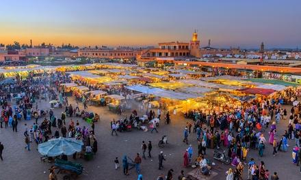✈Marruecos: 7 noches con desayuno en Marrakech y Fez, media pensión en el desierto, visitas guiadas y traslados para 1