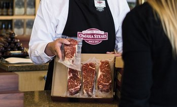 Up to 72% Off Steak Packages from Omaha Steaks Stores