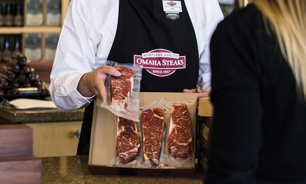 Grilling Packages at Omaha Steak Stores (Up to  57% Off). Three Options Available.