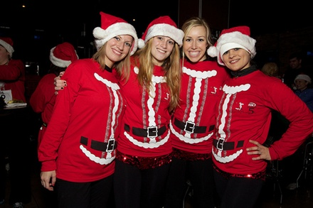 Santa Hustle 5K or Half Marathon Registrations at Galveston (Up to 39% Off). Four Options Available.