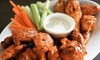 Up to 40% Off American Cuisine at Legends Wings & Brews