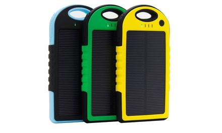 Powerbank 5000mAh para energía solar