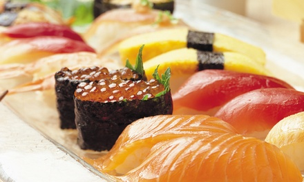 Sushi Lunch Buffet with Show Ticket or Nightlife Pass from V Theater (Up to 65% Off)