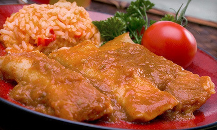 Restaurante Mi Casita - City Centre: Salvadoran Food at Restaurante Mi Casita (Up to 53% Off). Two Options Available.