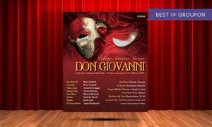 Don Giovanni al Teatro Nuovo di Milano: Don Giovanni, il 26 marzo al Teatro Nuovo di Milano (sconto fino a 41%)