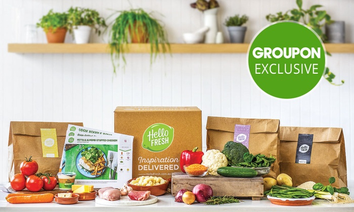 hellofresh in sydney groupon. Black Bedroom Furniture Sets. Home Design Ideas