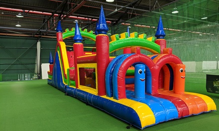 1-Hr Mega Courts Fun Zone Entry: Wkdy for 1 ($7) or 2 ($14), or Wknd for 1 ($9) or 2 Children ($18) (Up to $56)