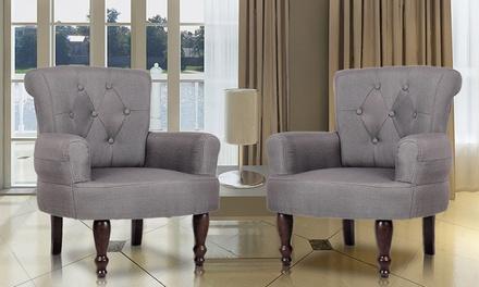 Lot de fauteuils scandinaves ITALIA de la marque GASOLINE