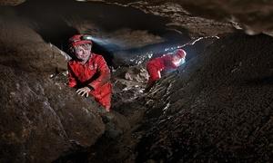 Het Parcours Speleo: Toegang tot het 'Parcours Speleo' in het Domein van Grotten van Han