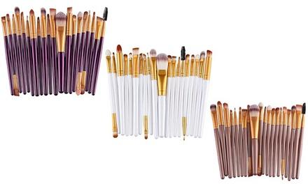 20Piece Makeup Brush Set