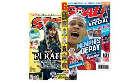 Het magazine STOER of GOAL! in de bus, je abonnement stopt automatisch