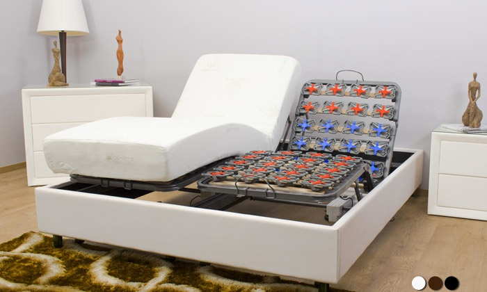 lit lectrique et matelas groupon shopping. Black Bedroom Furniture Sets. Home Design Ideas