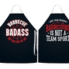 Graphic Barbecue Aprons