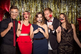 Mustaches and Smiles Photo Booths: $595 for $700 Worth of Services — Mustaches and Smiles Photo Booths