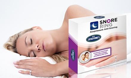 1 ou 2 bagues anti ronflement Doctor Lutaevonos pour des nuits paisibles