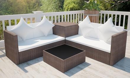 Conjunto de sofás de exterior Lounge