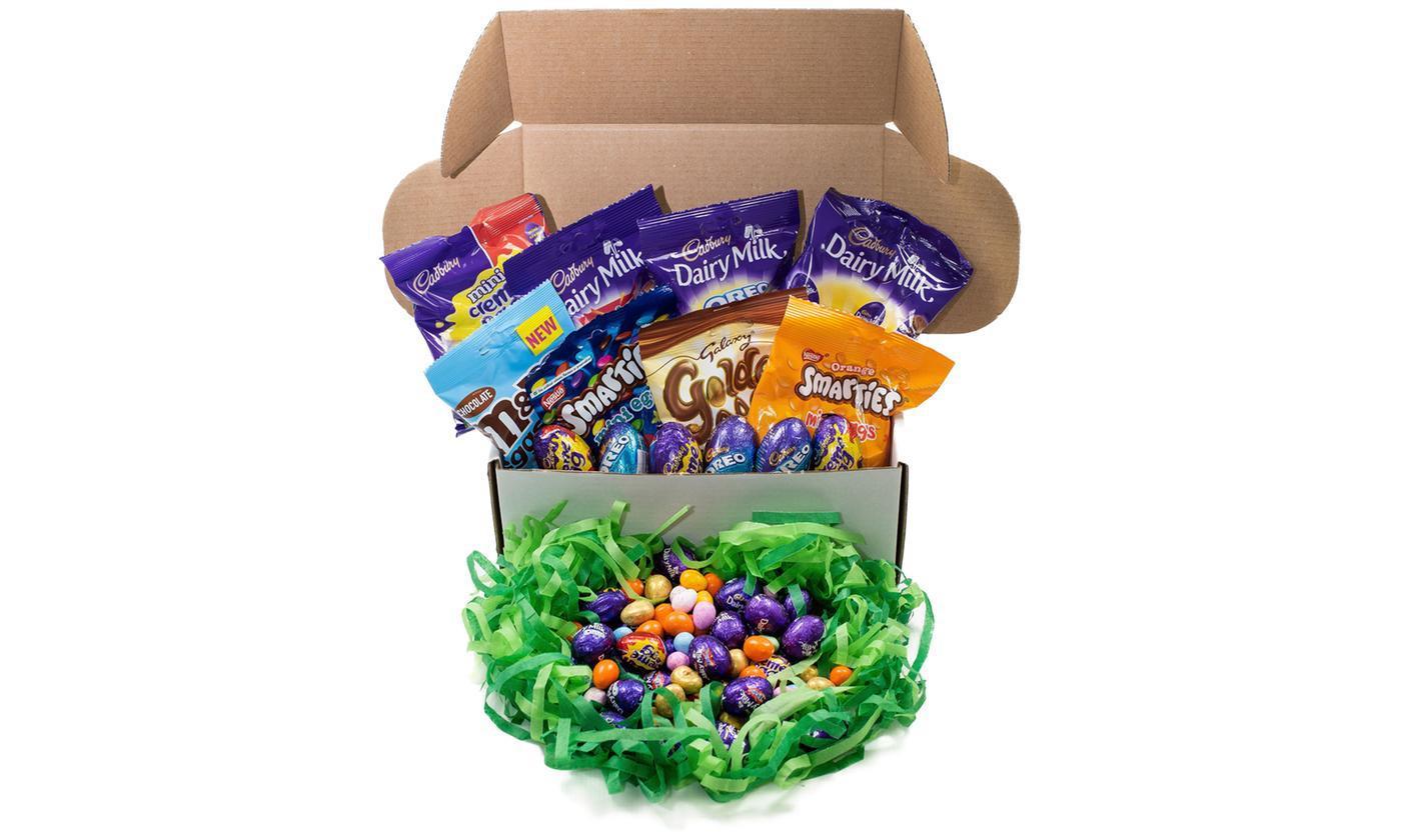 10- or 15-Piece Cadbury Chocolate Easter Egg Hamper